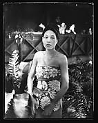 [South Seas: Woman Wearing Sarong]