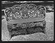 [Iron Chair on Lawn]