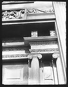 [Acanthus Molding Detail of Greek Revival Doorway, Cherry Valley, New York]