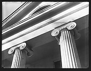 [Ionic Capitals of Greek Revival Building, Cambridge, Massachusetts]