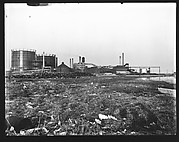 [Oil Refinery and Tanks]