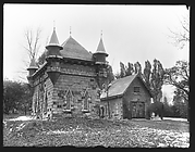 [Gothic Revival Outbuildings, New York]