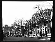[View of Broadway with Grand Union Hotel in Foreground, Saratoga Springs, New York]