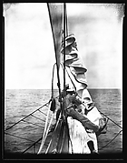 [South Seas: Crew Members on Prow, Aboard the Cressida]