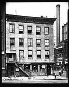 [Waterfront Building on South Street, Half Moon Bar and Grill Restaurant, New York City]