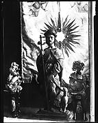 [Wax Votive Figure of St. Rock, Cuba]