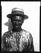 [Dockworker Wearing Straw Boater, Havana]