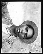 [Dockworker with Straw Hat and Cigar, Cuba]