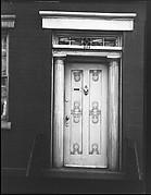 [Greek Revival Doorway, 204 West Thirteenth Street, New York City]