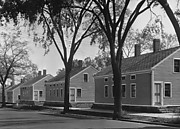 [Row of Frame Houses, Willimantic, Connecticut]