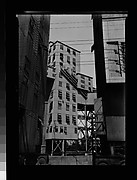 [Grain Elevator and Power Lines, Montreal, Canada]