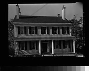 [Greek Revival House with Full-Façade Porch, Cambridge, Massachusetts]