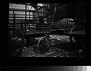 [Farmers' Wagons, Old Wallabout Market, Brooklyn, New York]