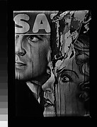 [Torn Movie Poster, Oak Bluffs, Martha's Vineyard, Massachusetts]