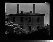 [Side View of House with Two Chimneys]