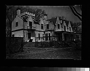 [Rear View of Gothic Revival House, Residence of William Hickling Prescott, Swampscott, Massachusetts]