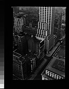 "[Cityscape with ""Step-Back"" Building, From High Elevation, New York City]"