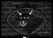 [Painted Butcher's Shop Sign on Brick Wall, Possibly Edwards, Mississippi]
