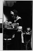 [Waitress in Window, New York City]