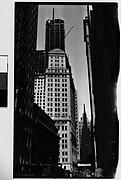 [Wall Street Looking West Towards Trinity Church, New York City]