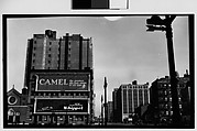 [Billboards and Buildings, Corner of Watts and Varick Street, New York City]