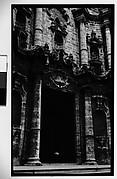 [Façade Detail of La Catedral de la Virgen María de la Concepción, Havana, Cuba]