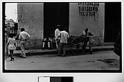[Street Scene with Pineapple Cart, Havana]