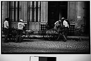[Vendors and Carts on Street, Havana]