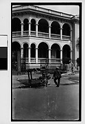 [Man Leaning on Cart, From Behind, Havana]