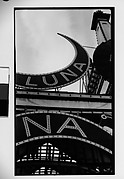 [Luna Park Sign Detail, Coney Island, New York]