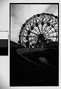 "[""Wonder Wheel"" and ""Virginia Reel"" Rides, Coney Island, New York]"