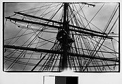 [Detail of Ship Mast and Rigging, New York City]