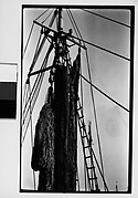[Detail of Fishing Boat: Mast, Rigging, and Tackle]