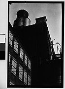 [Factory and Water Tower, New York City]