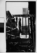 [Hanging Wax Votive Candle Display, Roosevelt Street, New York City]