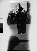 [Hanns Skolle in Overcoat and Hat, Union Square, New York City]