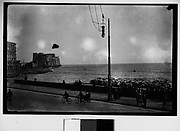 [Boulevard along the Mediterranean, Possibly Naples, Italy]