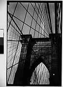 [Brooklyn Bridge Tower and Cables, New York City]
