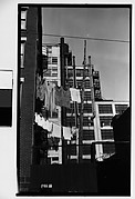 [Clotheslines and Building Facades, New York City]