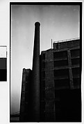 [Factory and Smokestack, Brooklyn Heights, New York City]