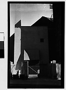 [Façade and Doorway of Modernist Residence, New York City]