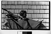 [Judith Shahn in Baby Carriage, Truro, Massachusetts]