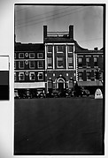 [Main Street Parked Cars and Building Fronts, Maine]