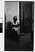 [Woman Seated Outside Doorway, Havana]