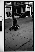 [Beggar Seated on Street, Havana]
