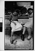 [Two Women Sleeping on Bench, Havana]