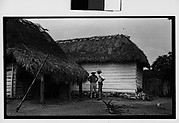 [Farmers in Front of Shanties, Cuba]