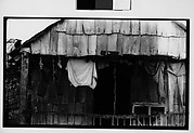[Shanty Facade Detail with Drying Clothes on Line, Cuba]