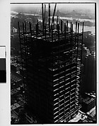 [Chrysler Building Construction Site, From Roof of Chanin Building, New York City]