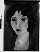 [Painting of a Woman in the Style of Marie Laurencin, Possibly Elisabeth Skolle by Hanns Skolle]